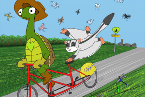 一只乌龟的痛苦的故事